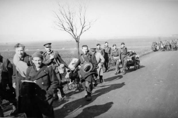 The Great March from Stalag Luft III. By some estimates, 80,000 POWs were forced to trek through the cold, with as many as 3,500 dying along the way.