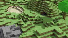 Image from Minecraft, a world-building game.