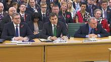 The heads of Britain's spy services agreed Thursday that intelligence leaked by former NSA analyst Edward Snowden had a significantly detrimental effect on their operations throughout the globe. (REUTERS TV)