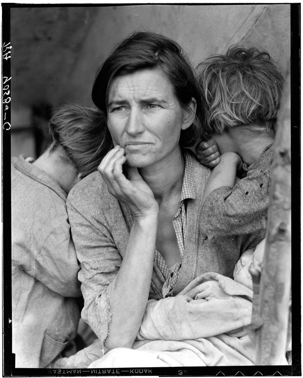 Memorable and emblematic – but did Dorothea Lange's photo of a Depression-era young mother of seven children help create lasting change?