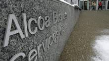 The Alcoa Business Services Center in Pittsburgh. Alcoa Inc. kicked off the second-quarter reporting season Monday with a 6-cent-(U.S.)-a-share profit excluding one-time charges, compared with 32 cents in the year earlier period. Sales fell to $5.96-billion from $6.59-billion. (JASON COHN/REUTERS)