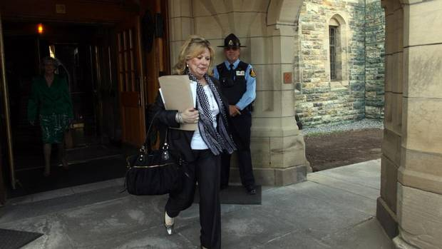 Senator Pamela Wallin wrote she could not produce a health card to help verify residency because she was denied coverage in Saskatchewan and Ontario. (Dave Chan For The Globe and Mail)