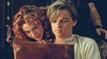 Kate Winslet and Leonardo DiCaprio in Titanic. (Merie Weismiller Wallace)