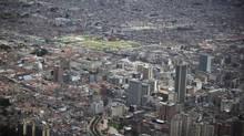 Downtown Bogota. (JOHN LEHMANN/The Globe and Mail)