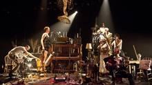 Cabaret Brise-Jour by L'Orchestre d'Hommes-Orchestres is part of The Theatre Centre's 2014 programming. (Guillaume D. Cyr)