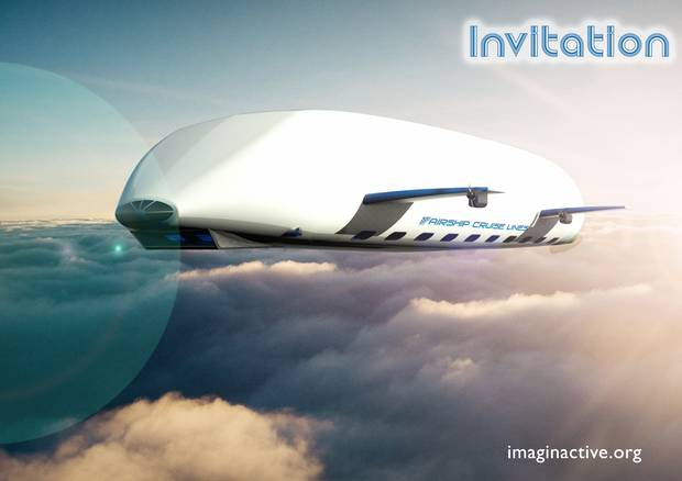 A large cargo bay door would serve as a base jumping pad for skydiving enthusiasts and other extreme sports