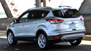The 2013 Ford Escape, was launched in San Francisco.