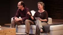 "Oliver Becker and Shauna Black in ""God of Carnage"" at the doomed Vancouver Playhouse (Bruce Monk)"