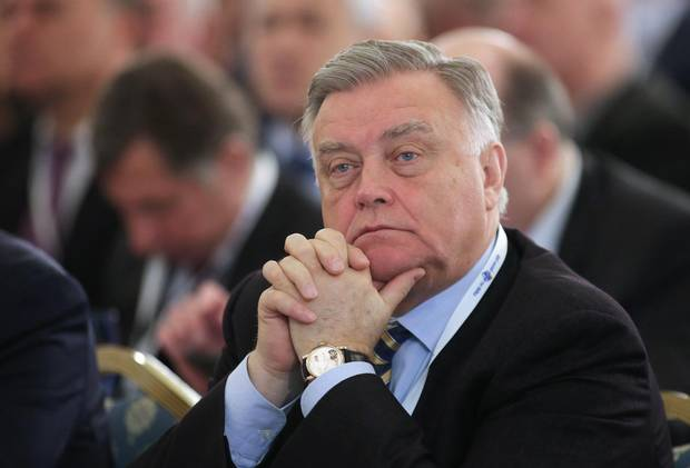 Vladimir Yakunin, the former CEO of Russian Railways, was among the first people to be targeted by U.S. sanctions following the Russian annexation of Crimea in 2014.