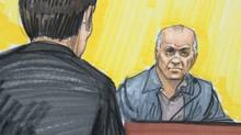 In this courtroom sketch, David Headley is shown in federal court in Chicago. (Tom Gianni/AP)