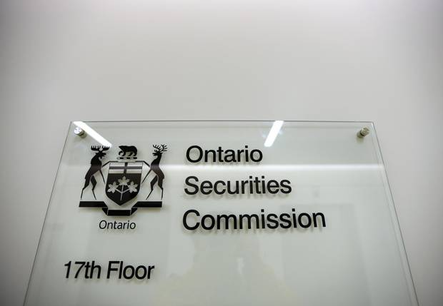 The 17th floor of 10 Queen St. West where the Ontario Securities Commission holds hearings into financial matters.