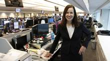 CIBC World Markets' Susan Rimmer observes that companies no longer had to go outside Canada for $1-billion trades (Fernando Morales/The Globe and Mail)