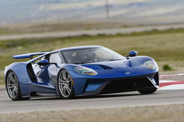 The active rear wing adds to the GT's braking power.
