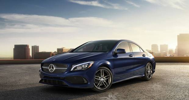 2018 Mercedes-Benz CLA.