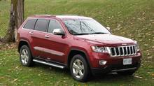 2013 Jeep Grand Cherokee (Bob English for The Globe and Mail)