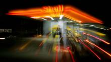 A Shell gas station (MAXIM MARMUR)