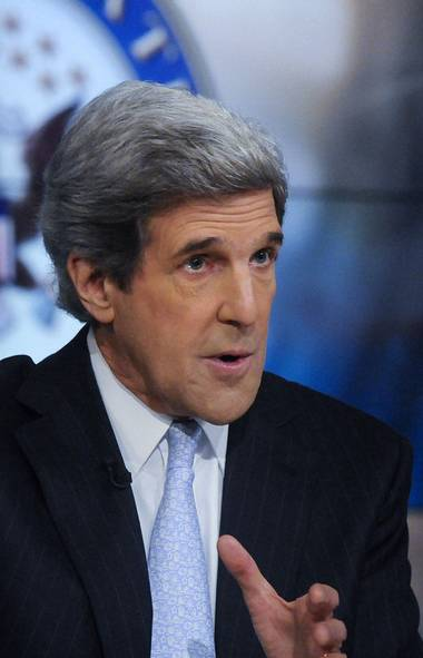 U.S. Senator John Kerry says 'There is a real threat that the market will look at Washington again on Monday and say, You can't get the job done.'