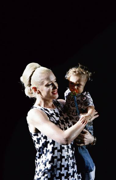 The Rock Mom: The Rock Mom continues to claim her own creative space even after her kids are born. Exemplars include Gwen Stefani, left, Jane Birkin and Patti Smith. (Jason DeCrow)