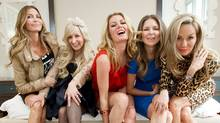 The cast of The Real Housewives of Vancouver. (DARRYL DYCK/DARRYL DYCK/THE CANADIAN PRESS)