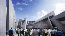 A rendering of designs for Canada's National Holocaust Monument (Lord Cultural Resources)