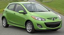 2011 Mazda2 (Bob English for The Globe and Mail)
