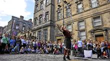 The Edinburgh Festival Fringe. (CALLUM BENNETTS/MAVERICK PHOTO AGENCY)