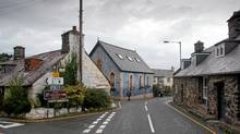 Every road trip to the remote cottage near Llwyngrwil included stops for newspaper wrapped fish 'n' chips. (Bruce Kirkby)