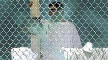 Omar Khadr is seen in Guantanamo Bay's Camp 4 on Oct. 23, 2010, days before the Canadian was convicted of five war crimes and sentenced to eight more years. (COLIN PERKEL/THE CANADIAN PRESS/COLIN PERKEL/THE CANADIAN PRESS)