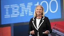 Virginia Rometty is one of the few women leading a large tech company. On Jan. 1, 2012, she becomes the first female chief executive officer of IBM Corp. in its 100-year history. (Graham Carlow/IBM Corp./Graham Carlow/IBM Corp.)
