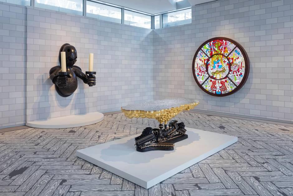 Studio job art exhibit in new york inspired by household for Garden design jobs nyc