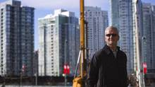 Michael Graydon of Paragon Gaming is pictured on the site where the company plans to build an urban resort featuring a casino next to B.C. Place in Vancouver, Feb 12, 2014.