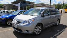Toyota Sienna minivan: what's not to like? (Peter Cheney/The Globe and Mail)