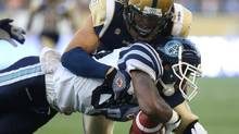 Winnipeg Blue Bombers' Graig Newman (Trevor Hagan/THE CANADIAN PRESS)