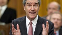 Liberal Leader Michael Ignatieff speaks during Question Period in the House of Commons on Nov. 15, 2010. (Sean Kilpatrick/The Canadian Press)