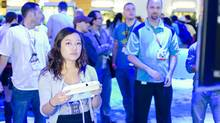 Gamer girl with Wii U controller at E3 2012 (Sergey Galyonkin/Flickr Creative Commons)