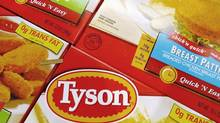 U.S. meat processor Tyson Foods Inc. is one of the better companies on our list, scoring well in all our categories, with the best P/E and EV/EBITDA. (LISA POOLE/AP)