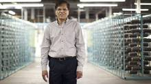 Rahumathulla Marikkar lost his job to the Great Recession in 2009. He then arranged the financing to launch his own business, carpet tile maker Belletile Inc. (Moe Doiron/The Globe and Mail/Moe Doiron/The Globe and Mail)