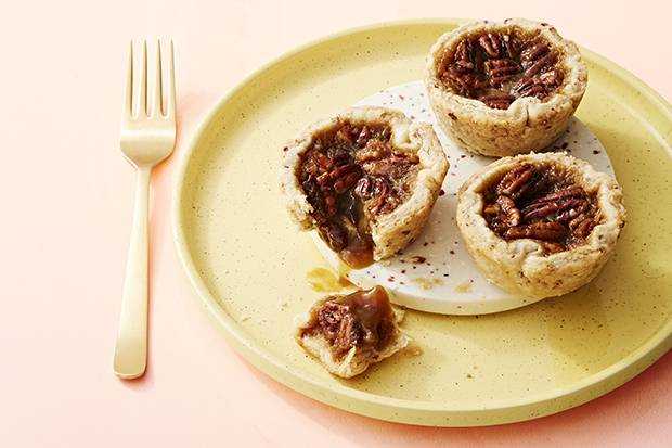 To keep everyone happy, raisins and pecans in the filing are optional in this boozy take on the classic butter tart.