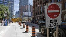 Perhaps the most frustrating aspect of construction is that it never seems to end. (Fernando Morales/The Globe and Mail)