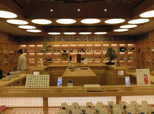 Beams is a Japanese brand known primarily for clothing, but its Shinjuku flagship store incorporates Japanese-made crafts and an art gallery alongside a precisely curated assortment of clothes from coveted fashion brands.