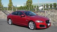 2012 Jaguar XF-R (Ted Laturnus for The Globe and Mail)