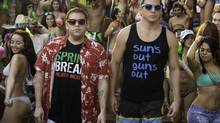 "Much of the comedy comes down a a chemistry between Jonah Hill, left, and Channing Tatum. ability to turn even the more juvenile gags (see: dick jokes) into hilariousness 22 JUMP STREET Jonah Hill, left, and Channing Tatum in Columbia Pictures' ""22 Jump Street."" (Glen Wilson/Columbia Pictures)"