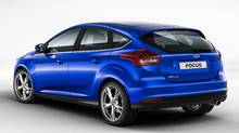 The 2015 Ford Focus will be available in North America with a 1.0-litre EcoBoost engine. (Ford)