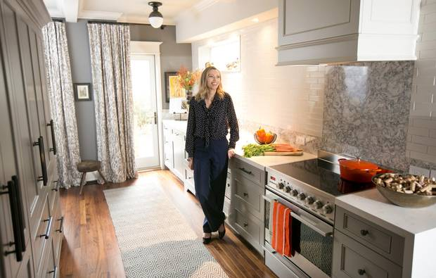/Toronto based interior designer Gillian Gilliesâ favourite room in her home is her kitchen.