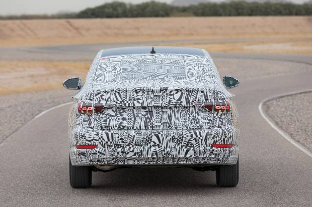 The new Jetta will debut with the the company's turbocharged 1.4-litre engine.