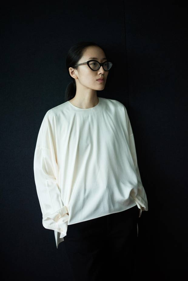 Designer Min Liu studied fashion in Europe but returned to China to launch her brand, Ms. Min.