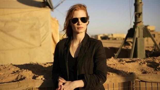 "Jessica Chastain for ""Zero Dark Thirty"" (AP)"