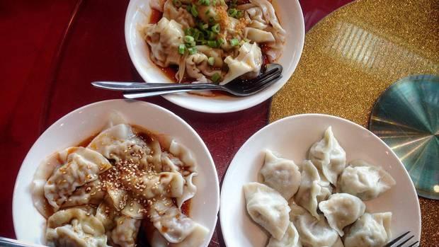 Water-boiled dumplings