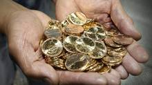 Canadian dollar coins (John Woods For The Globe and Mail/John Woods For The Globe and Mail)