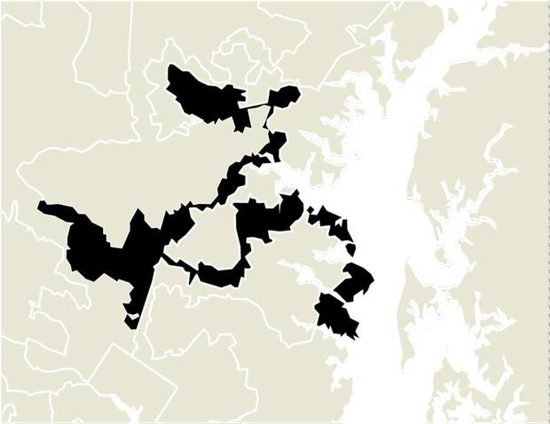 Stunning MARYLAND uS RD DISTRICT